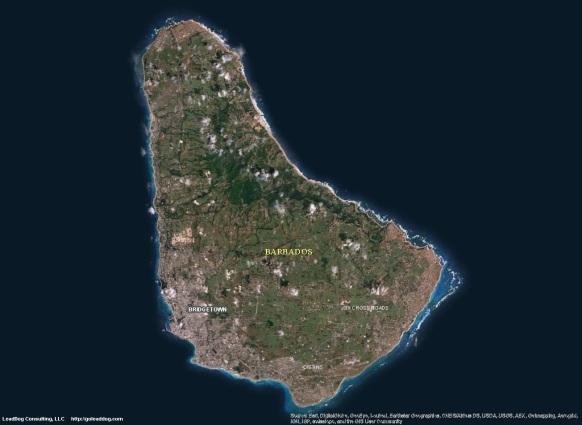 Bridgetown, Barbados Satellite Maps