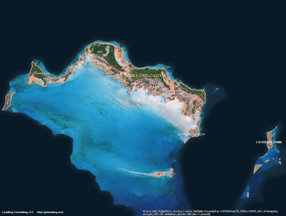 Cockburn Town, Turks and Caicos Satellite Map
