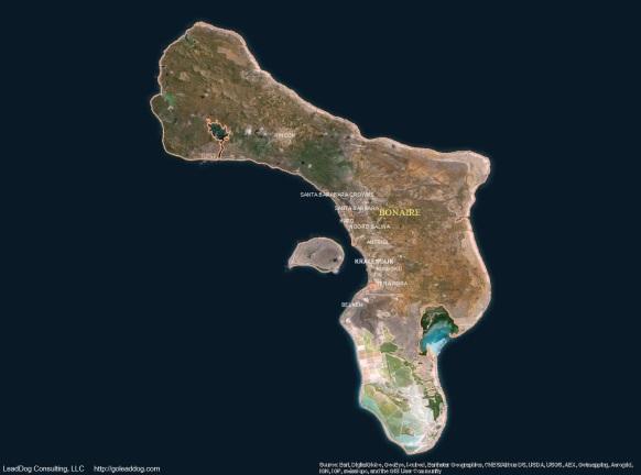 Kralendijk, Bonaire Satellite Map