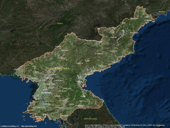 North Korea Satellite Maps Leaddog Consulting