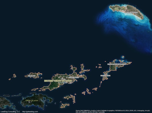 Road Town, British Virgin Islands Satellite Map