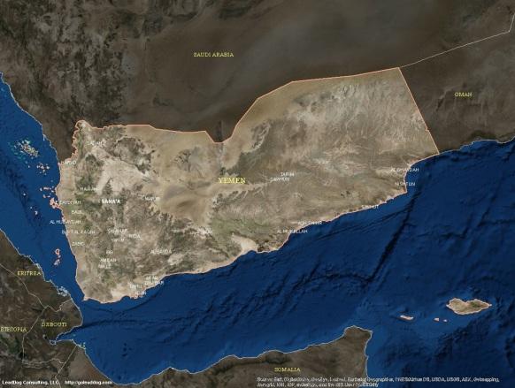 Sana'a, Yemen Satellite Map