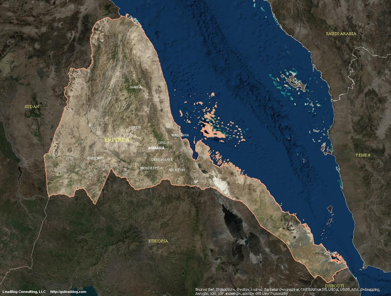 Eritrea Satellite Maps | LeadDog Consulting on capital of ethiopia, afar region ethiopia, elevation of ethiopia, national flag of ethiopia, awash ethiopia, native animal in ethiopia, flora of ethiopia, satellite map kenya, village of ethiopia, city of ethiopia, road map ethiopia, gojjam ethiopia, geographic features of ethiopia, king of ethiopia, food of ethiopia, coordinates of ethiopia, aerial view of ethiopia, sodo ethiopia, nazret ethiopia,